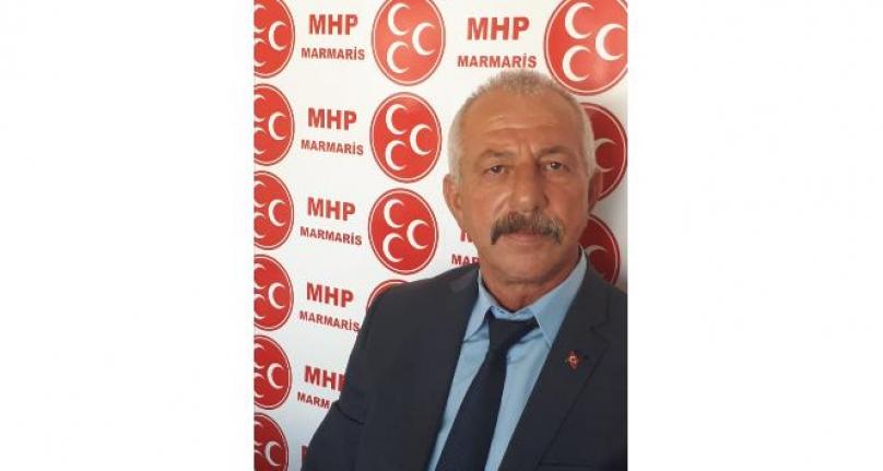 Marmaris MHP İlçe Başkanı Kalemci'nin Zafer Bayramı Mesajı