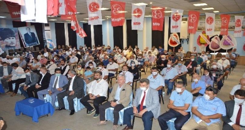 Milas MHP'de Ünlüsoy Güven Tazeledi