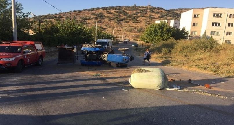 Milas'ta Traktör Kazası: 1 Kişi Hayatını Kaybetti!