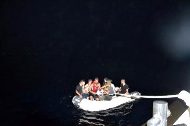 Muğla Açıklarında 7 Kaçak Göçmen Kurtarıldı