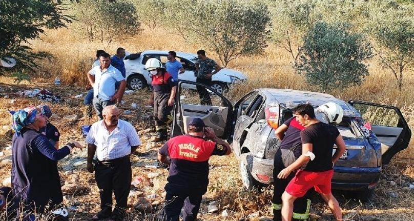 Muğla-Aydın Yolunda Yaşanan Kazada 4 Kişi Yaralandı!