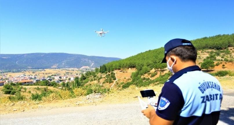 Muğla'da Kaçak Hafriyatın Önüne Drone İle Geçiliyor
