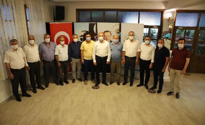Muğla'nın Cumhur İttifakı Belediye Başkanları Bir Araya Geldi