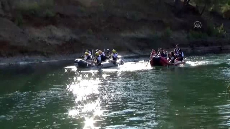 Raftingciler 6 Ay Sonra Dalaman'da Suya İndi