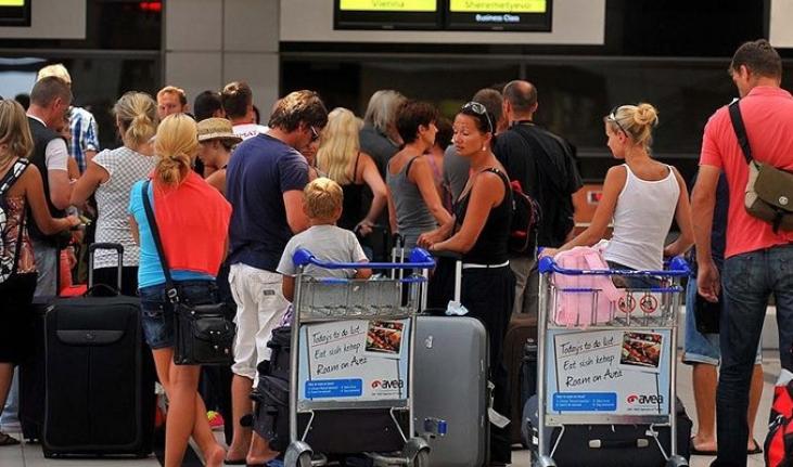 Temmuz'da Yabancı Turist Yüzde 85.9 Azaldı, Muğla Beşinci Sırada!