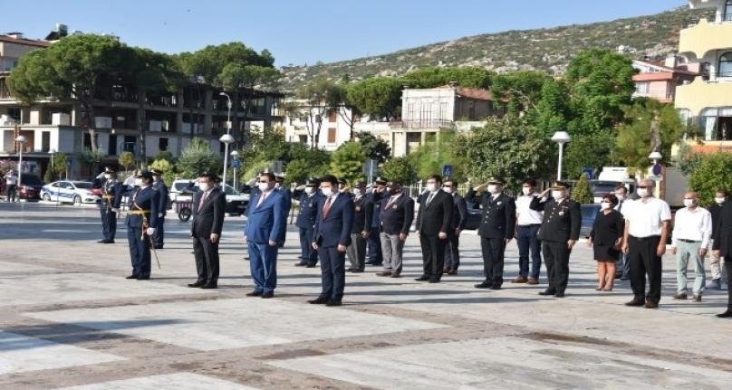 Zafer Bayramı'nın 98'inci Yıldönümü Milas'ta Törenle Kutlandı