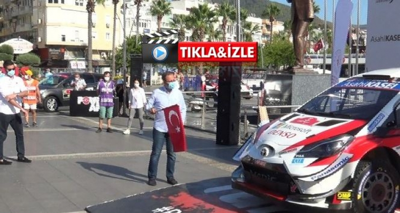 Bakan Kasapoğlu Dünya Ralli Şampiyonası'na Start Verdi