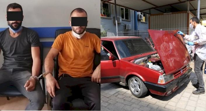 Balıkesir'de Çaldıkları Otomobille Milas'ta Yakalandılar!