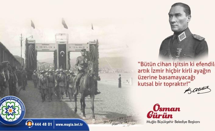 """Başkan Gürün: """"9 Eylül Kurtuluş 9 Eylül Kuruluştur"""""""