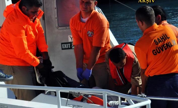 Bodrum'da Denizde Erkek Cesedi Bulundu!
