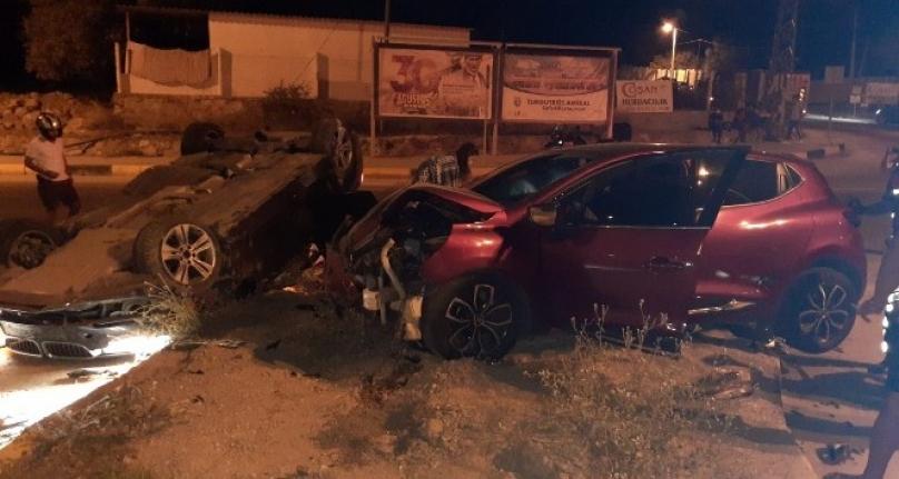 Bodrum'da Yaşanan Kazada 3 Kişi Yaralandı!