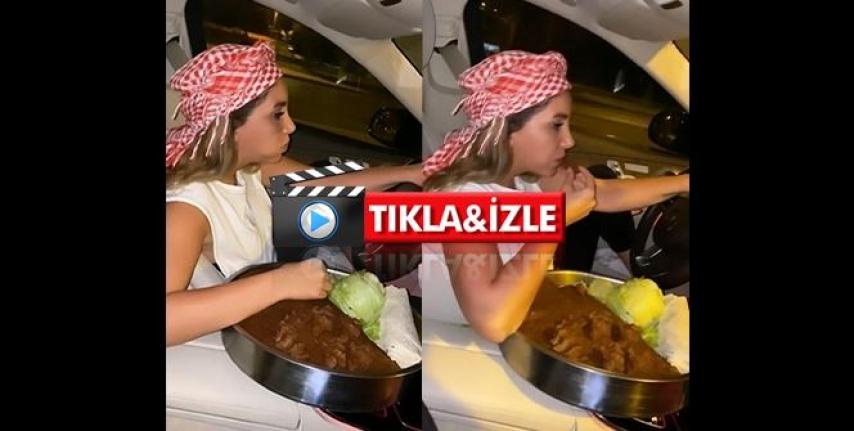 """""""Çiğ Köfteli"""" Kadın Trafik Magandası Kamerada!"""