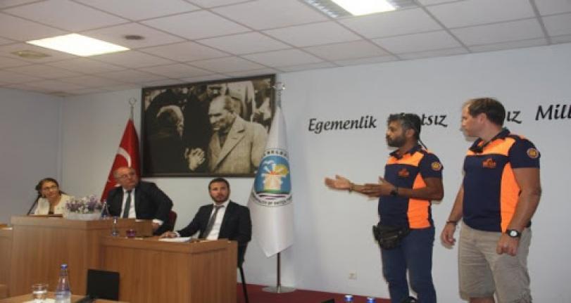 Datça'da Afet Eğitim Toplantıları Sürüyor