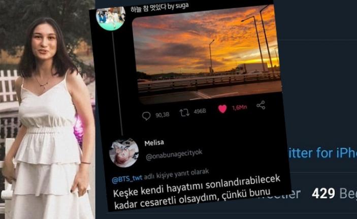 İntihar Eden Genç Kızın Paylaşımları Sosyal Medyanın Gündeminde!