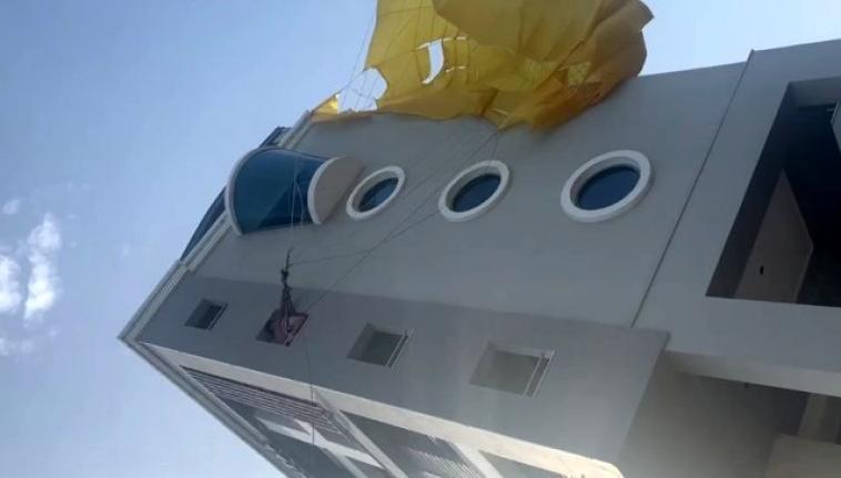 Marmaris'te Korkutan Paraşüt Kazası!