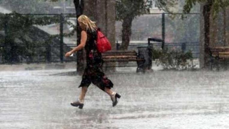 Meteoroloji'den 6 Nokta İçin Sağanak Yağış Uyarısı