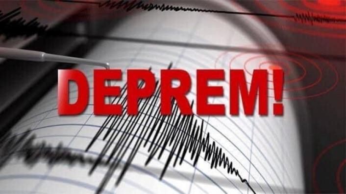 Milas'ta 3,5 Büyüklüğünde Deprem!