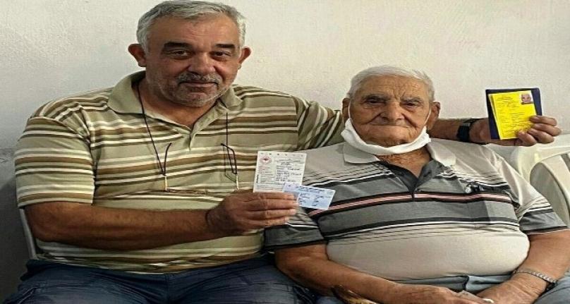 Milas'ta 90 Yaşındaki Avcıya Teşekkür Plaketi Verildi