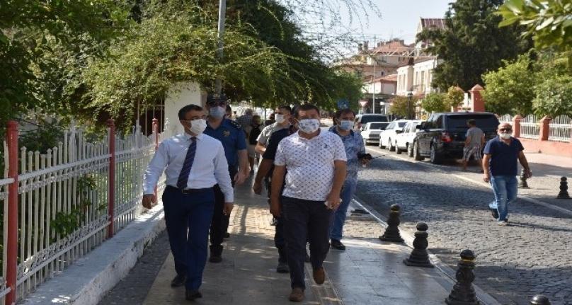 Milas'ta Koronavirüs Denetimleri Devam Ediyor