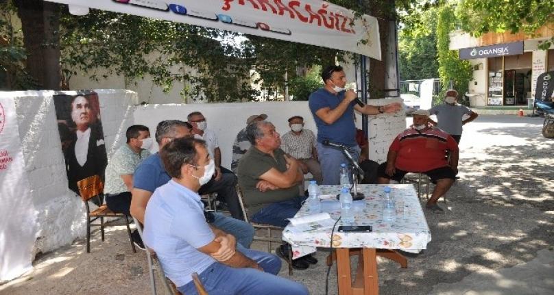Milas'ta Üreticilere Yönelik Toplantı Düzenlendi