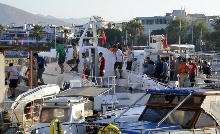 Muğla'da Korona Yasaklarına Uymayan Tekne Sahiplerine Para Cezası