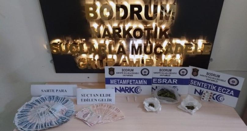 Muğla'da Uyuşturucu Taciri 5 Şüpheli Tutukladı