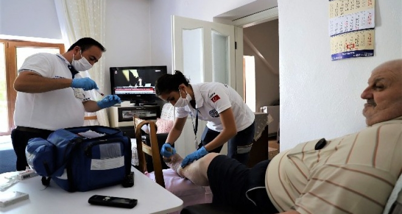 Pandemi Sürecinde Muğla'da 10 Bin Tıbbi Bakım Gerçekleşti