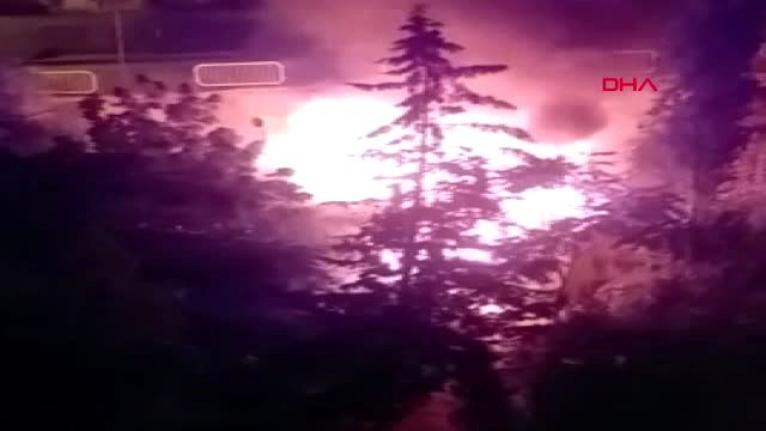 Ruhsal Sorunları Olan Kişinin İntihara Kalkıştığı Evde Yangın Çıktı