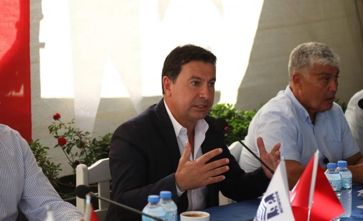Başkan Ahmet Aras Denizcilerle Bir Araya Geldi