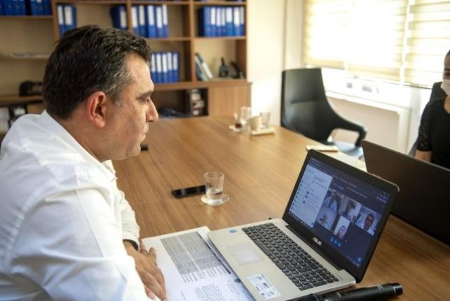 Belediyelerin Sosyal Hizmetler Daire Başkanları Online Toplantı Düzenledi