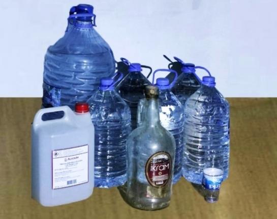 Bodrum'da 44 Litre Sahte Alkol Ele Geçirildi