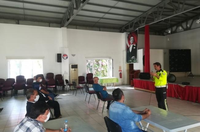 Dalaman'da Okul Servisi Sürücülerine 'Korona Virüs Tedbirleri' Anlatıldı