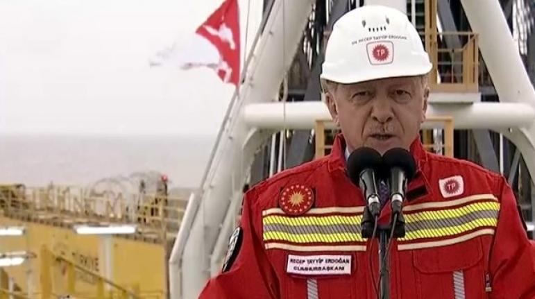 """Erdoğan Müjdeyi Verdi: """"85 Milyar Metreküp Daha Gaz Bulduk"""""""