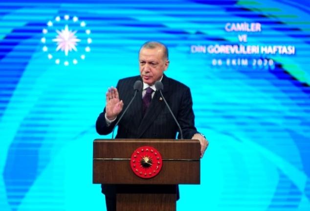 """Erdoğan: """"Müminin Görevi Yoklukta Sabretmektir"""""""