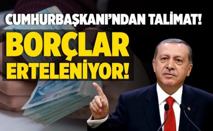 Erdoğan Talimatı Verdi: 4 Milyon Kişinin 500 Milyar Borcu Yapılandırılacak