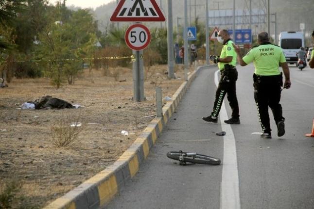 Fethiye'de Otomobilin Çarpığı Bisikletli Öldü