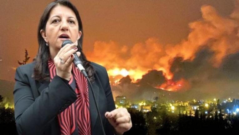 """Hatay'daki Yangınları PKK Üstlendi, HDP: """"Yangınların Sorumlularını Lanetliyoruz"""""""