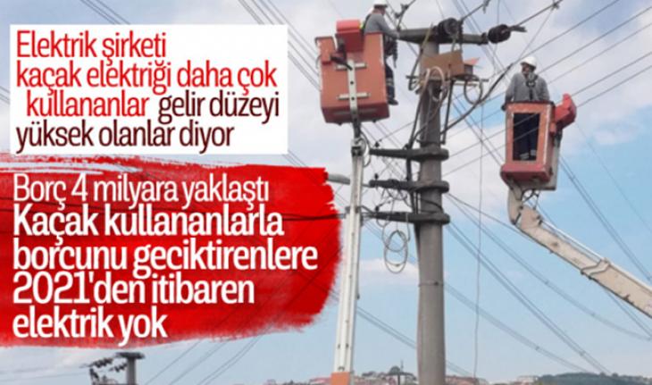 Kaçak Elektriğe Uydudan Tespit, Borcunu Ödemeyene Elektrik Yok!