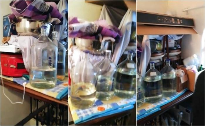 Köyceğiz'de 296 Litre Sahte Alkol Ele Geçirildi