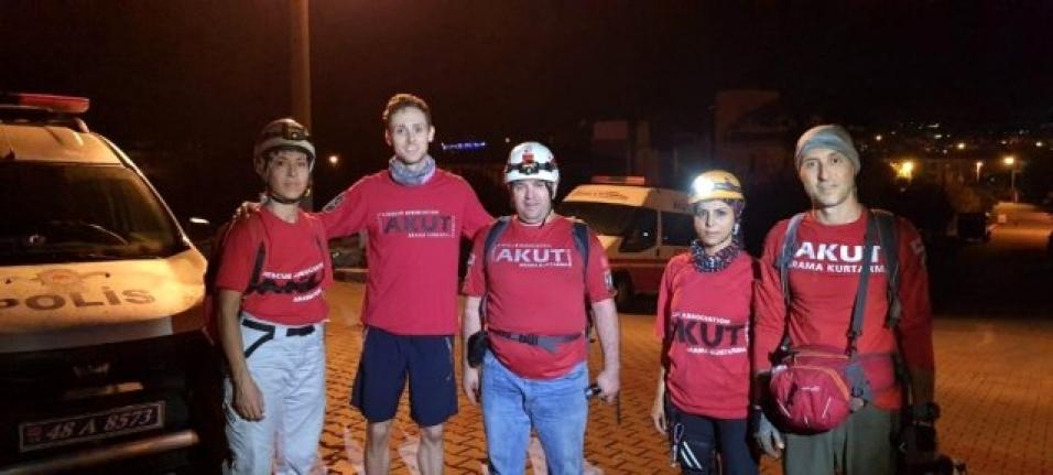 Marmaris'te Kaybolan Amerikalı Turist 7 Saat Sonra Bulundu