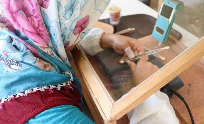 Marmaris'te Yapılan El Yapımı Takılar Tüm Dünyaya Gönderiliyor