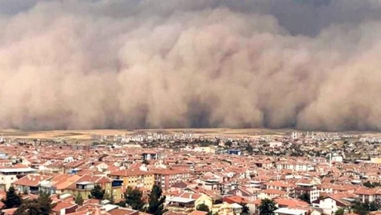 Meteoroloji'den Kuvvetli Sağanak Yağış ve Toz Fırtınası Uyarısı