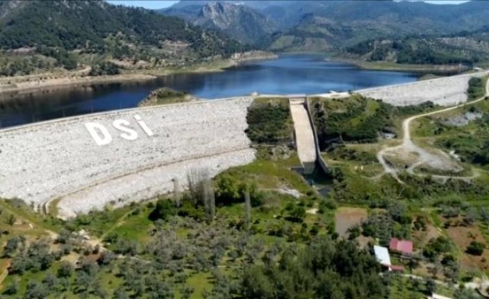 Milas'taki Barajların Su Seviyesi Mevsim Şartlarına Göre Normal