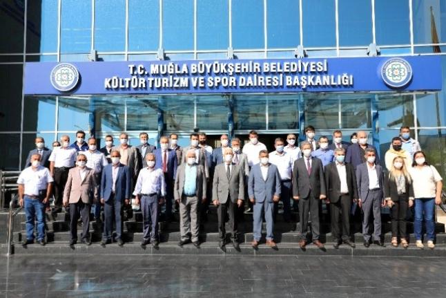 Muğla'da 29 Muhtar Büyükşehir Belediyesinin İlkyardım Eğitimine Katıldı