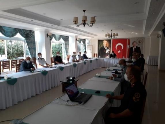Muğla'da İl Güvenlik ve Asayiş Toplantısı Yapıldı