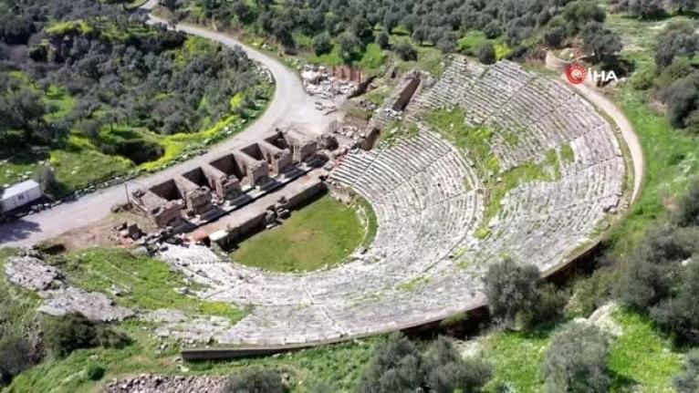 Nysa Antik Kültür Kenti GEKA Projesiyle Turizmin Başkenti Olma Yolunda