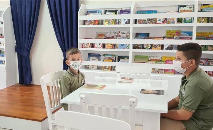 Yeniköy Kemerköy Elektrik Üretim AŞ'nin Desteğiyle Milas'ta Kütüphane Kuruldu