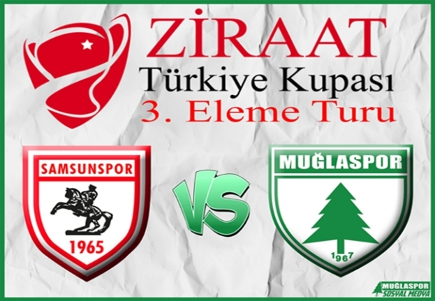 Ziraat Türkiye Kupası'nda Muğlaspor'un Rakibi Samsunspor Oldu