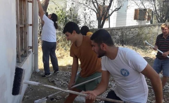 Datça'da Kullanılmayan Okul Binası Kütüphane Olacak