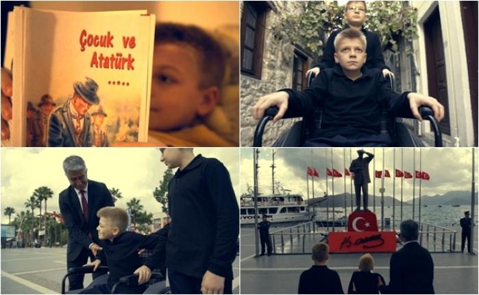 Marmaris Belediyesi Atatürk'ü Kısa Film İle Andı